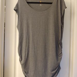 Ruched athletic top